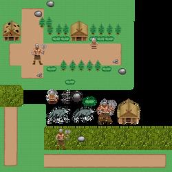 Pixel Set 2 by HeroforPain
