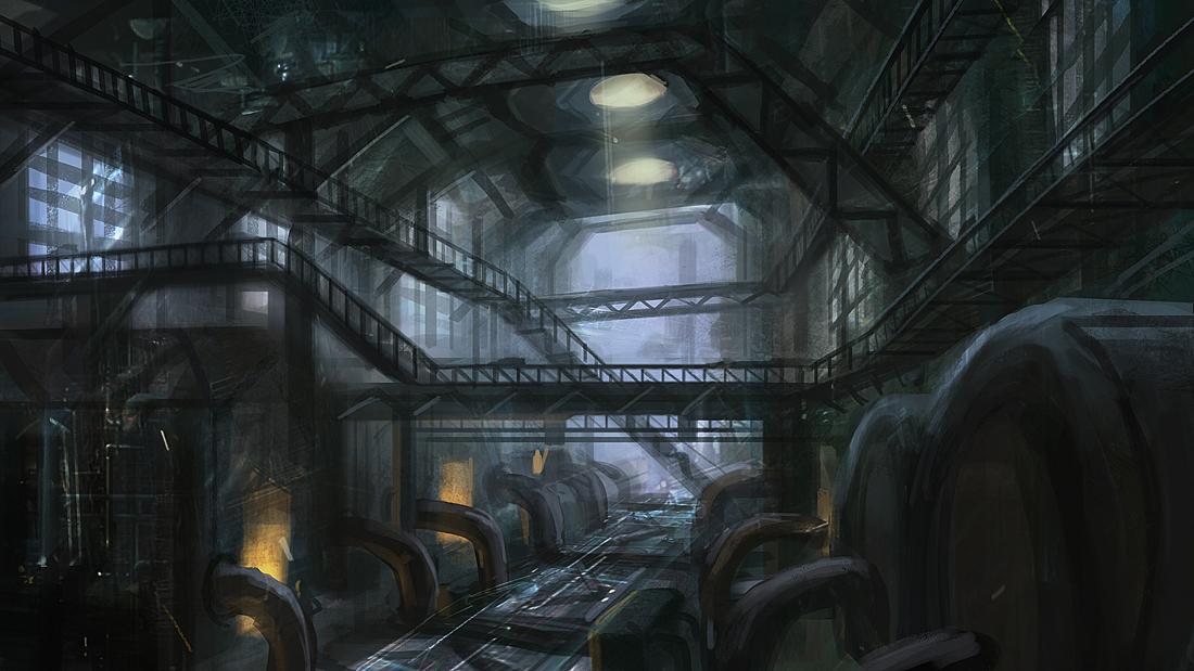 Boiler Room by eddie-mendoza