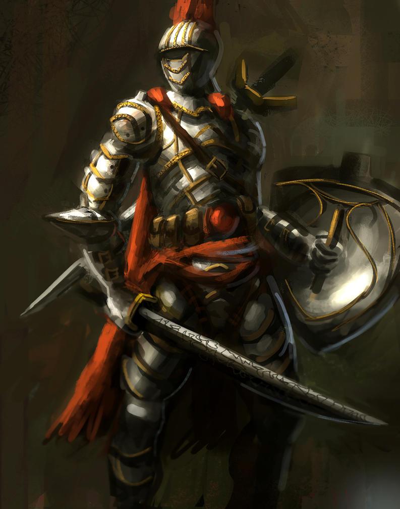 Red Knight by e-mendoza