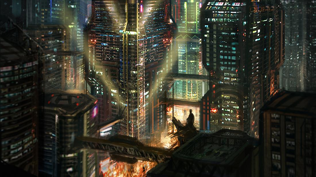 Metro Pt. II by e-mendoza