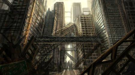 Ruined Empire by eddie-mendoza