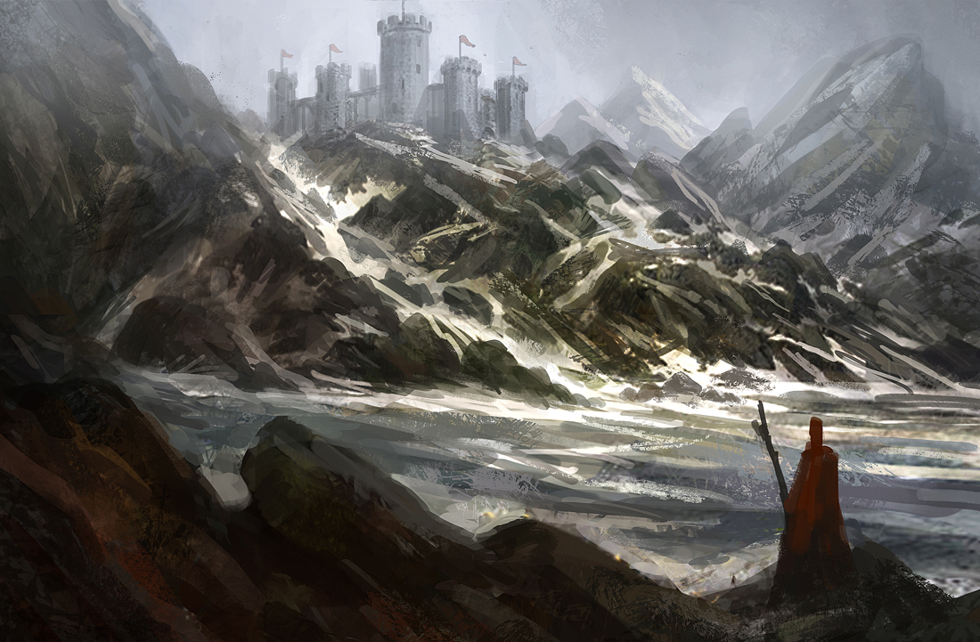 Mountain Solace Pt. II by e-mendoza
