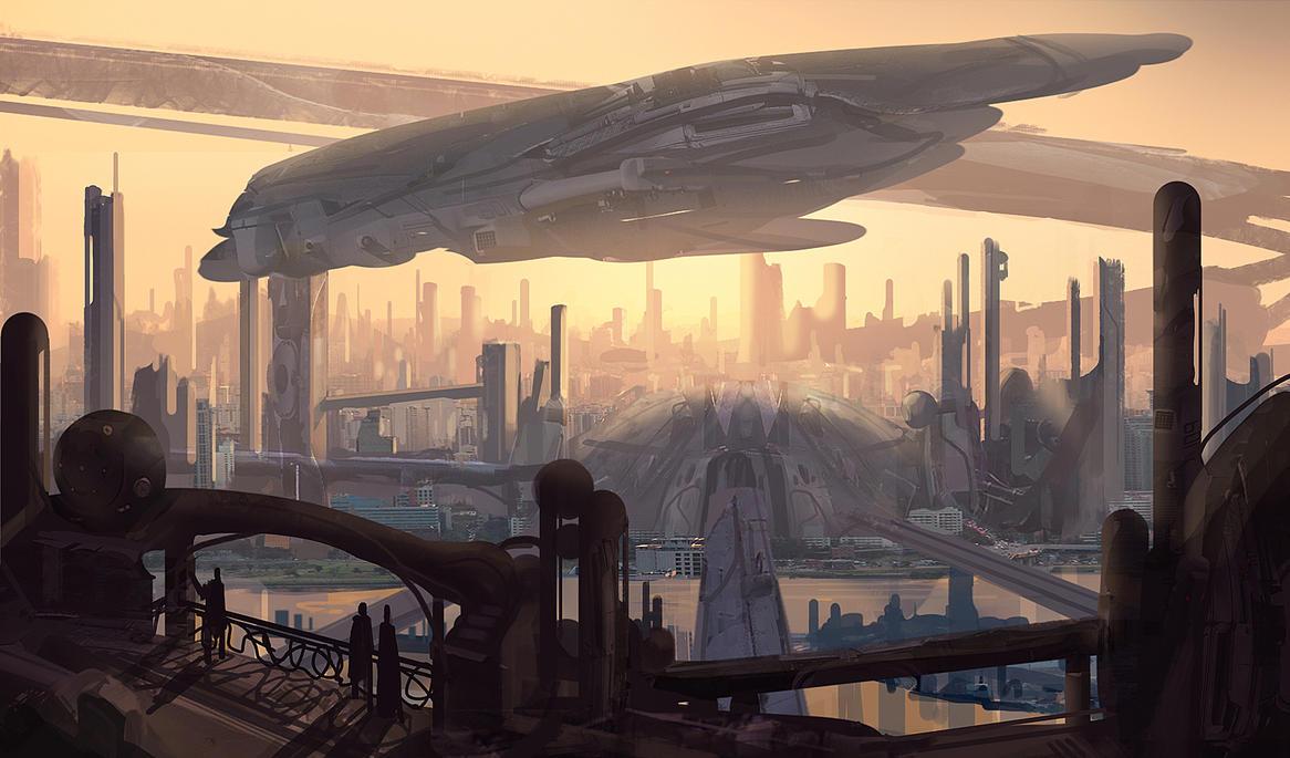 Arrival by eddie-mendoza