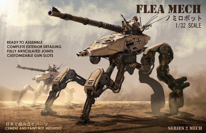 Flea mech by eddie-mendoza