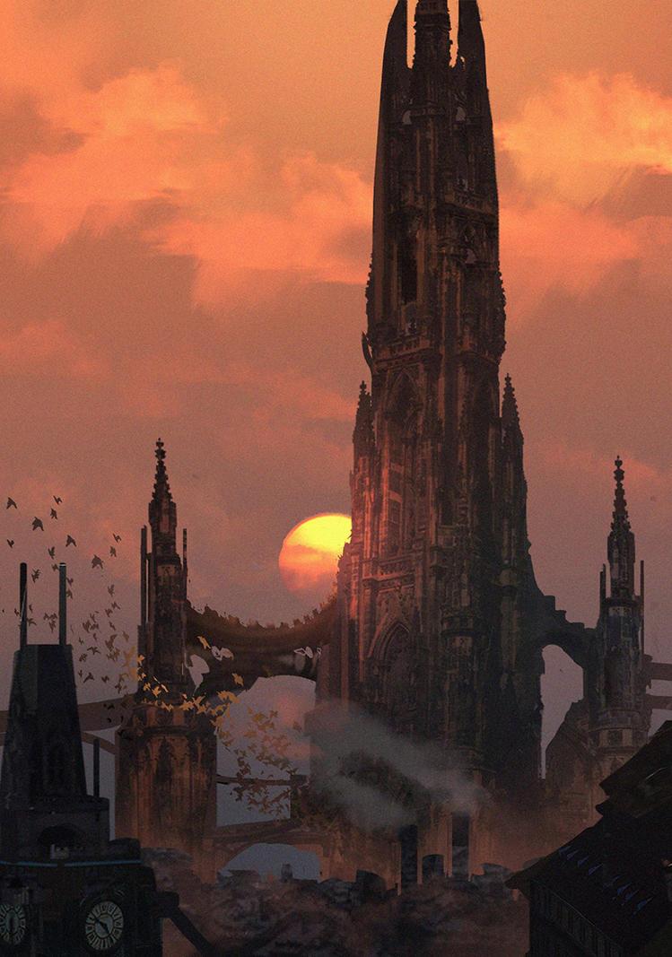 The Dark Tower by eddie-mendoza
