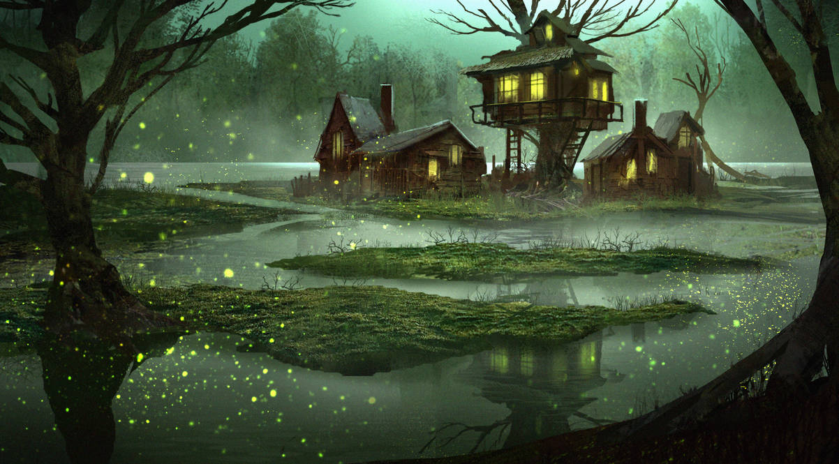 Fireflies by eddie-mendoza