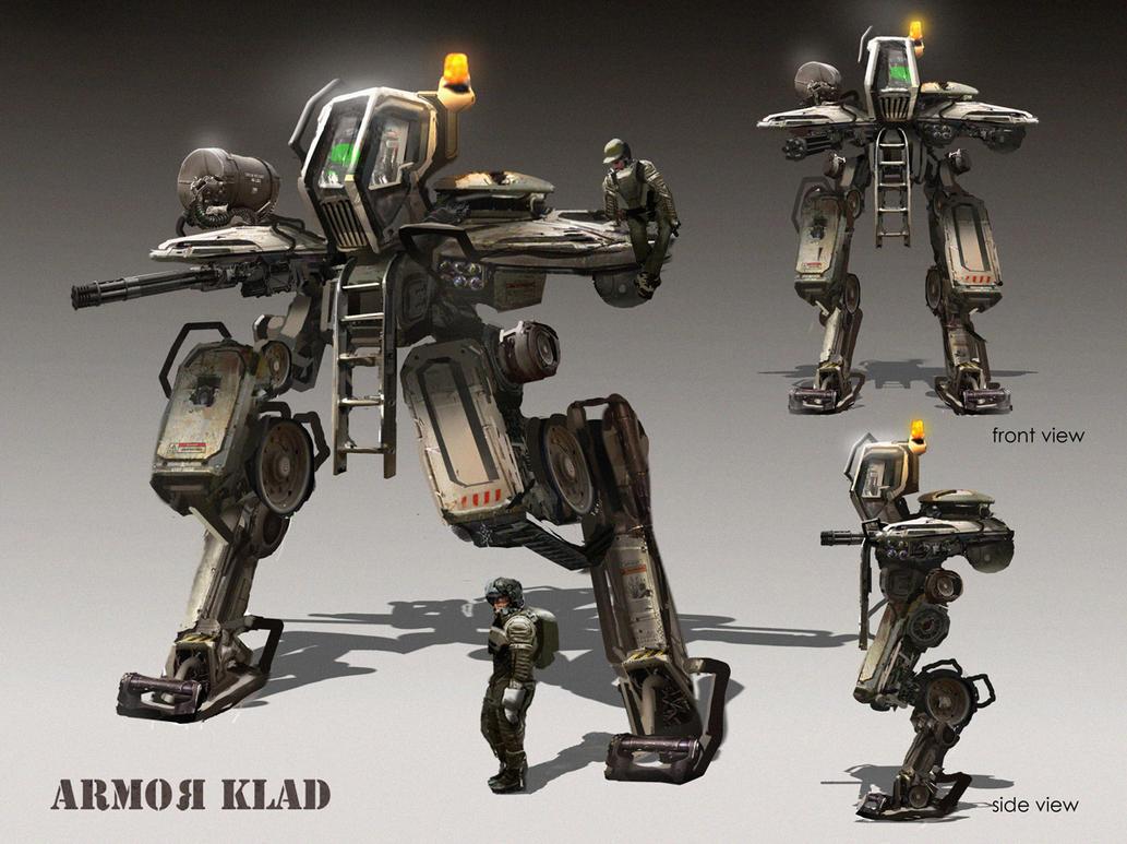 Assault Class Mech by eddie-mendoza