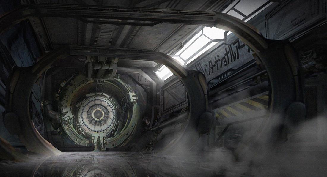 Grungy Hallway by e-mendoza