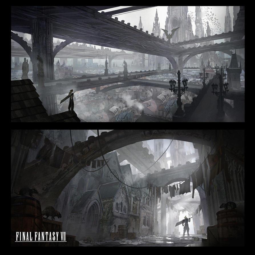 Final Fantasy 7 Redesign - Midgar by e-mendoza