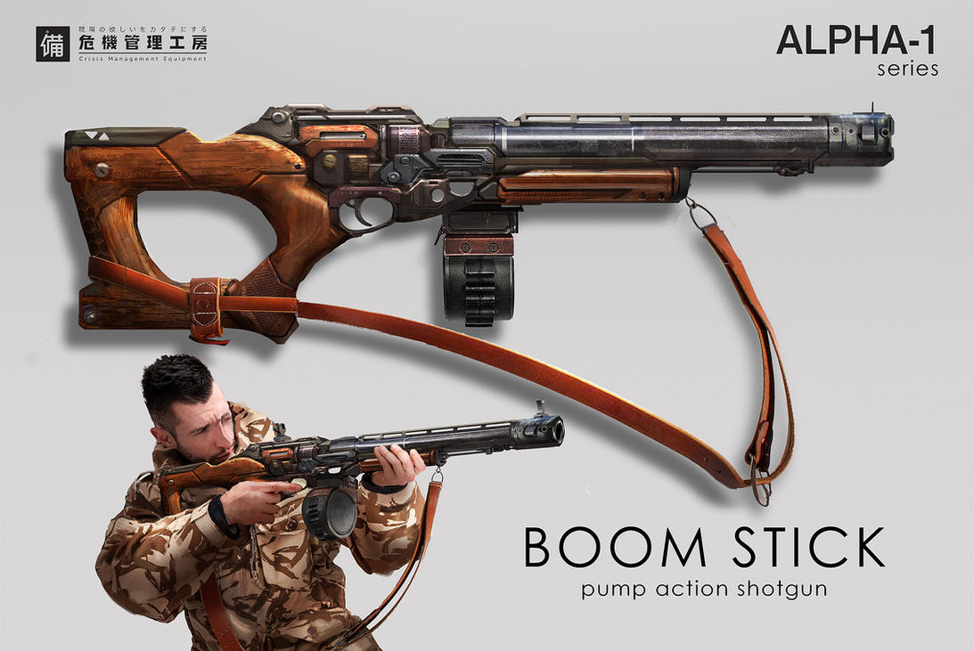 Boom Stick by eddie-mendoza