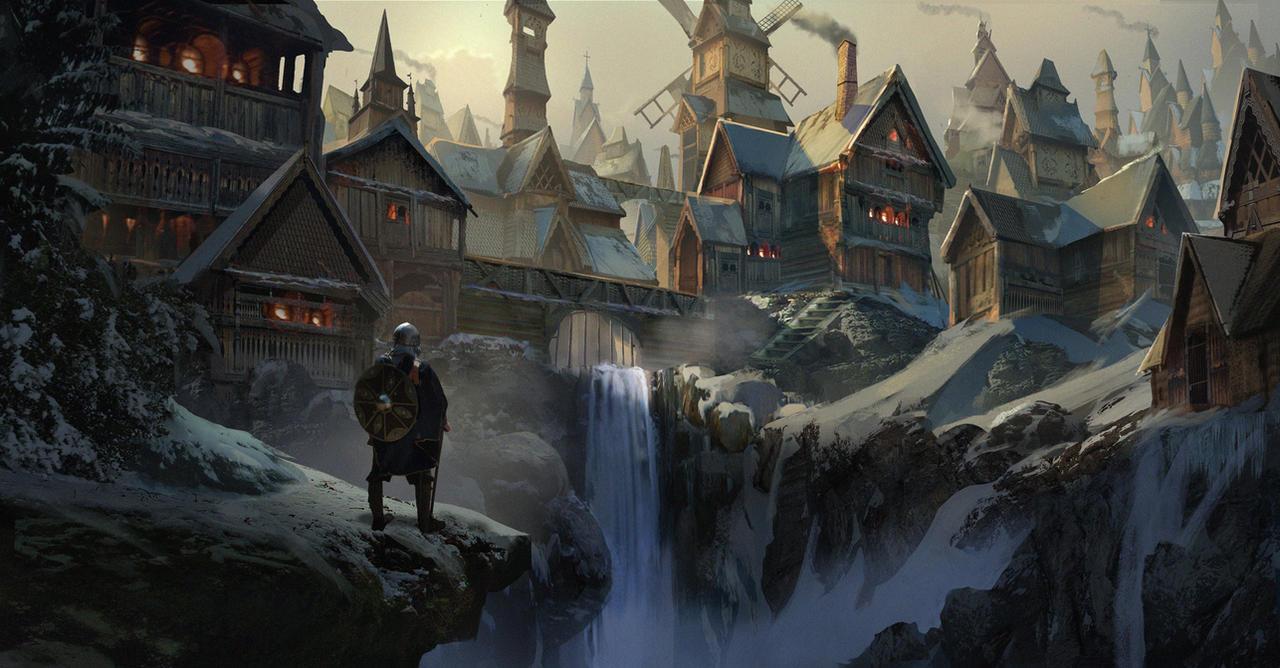 Valhalla by eddie-mendoza on DeviantArt