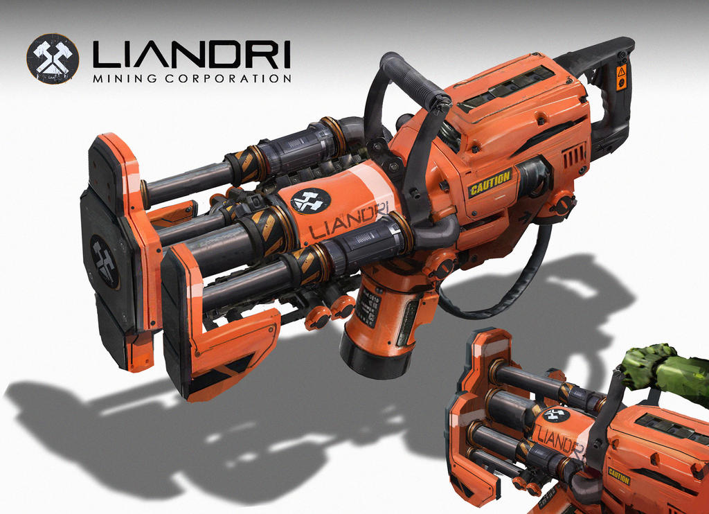 Unreal Tournament - Impact Hammer by eddie-mendoza