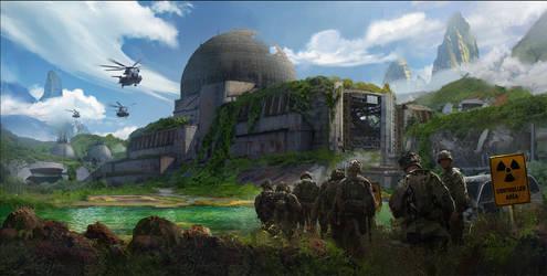 Abandoned Uranium Facility by eddie-mendoza