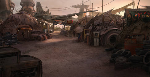 Settlement by eddie-mendoza