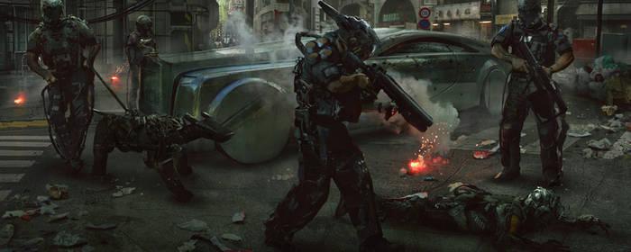 The Robot Riots by eddie-mendoza