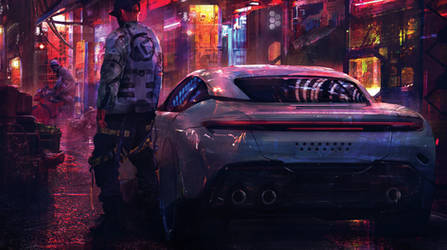 Neon Soaked Streets