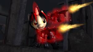 [FO:E] Gunz a blazing!