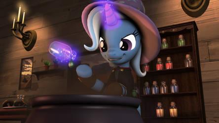 [SFM Ponies] Trixie The Alchemare by FD-Daylight