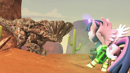 [SFM Ponies] Monster Hunter: Pony World by FD-Daylight
