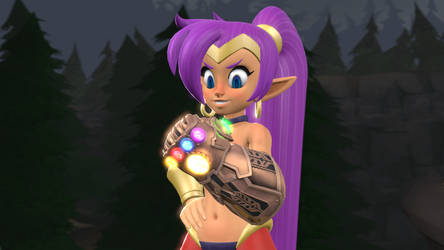 [SFM] Shantae and her new found weapon by FD-Daylight