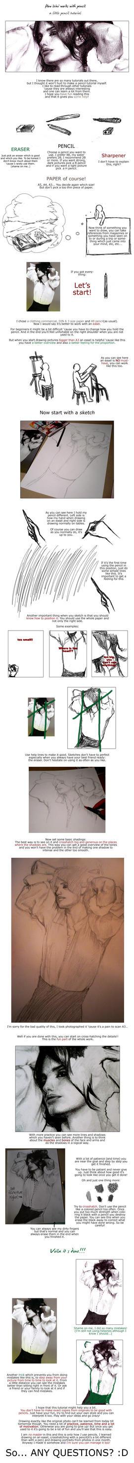 basic pencil tutorial by leinef