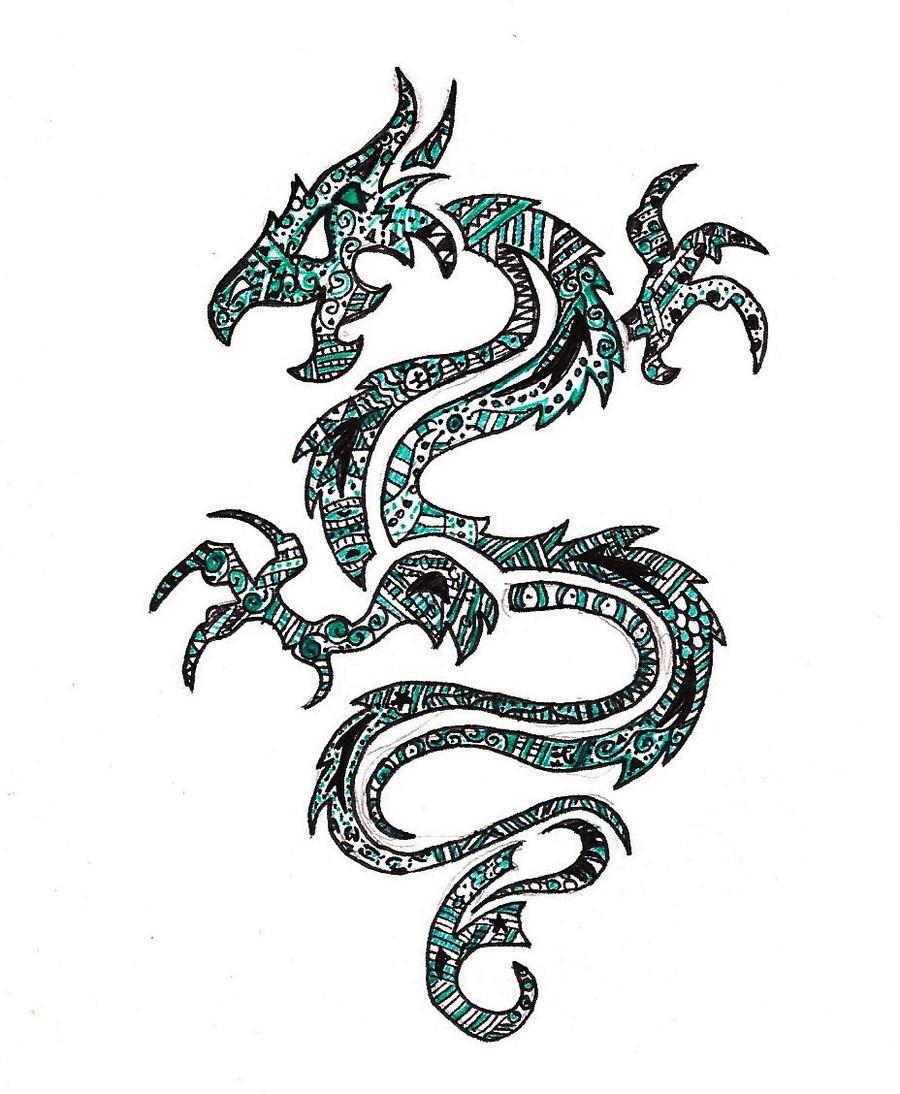 Jade dragon by onlyoneeternity on deviantart for Jade dragon tattoo