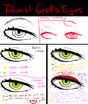 Tutorial: how to draw Grell's eyes
