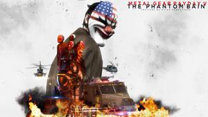 METAL GEAR PAYDAY V: THE PHANTOM BAIN by MintCommissar