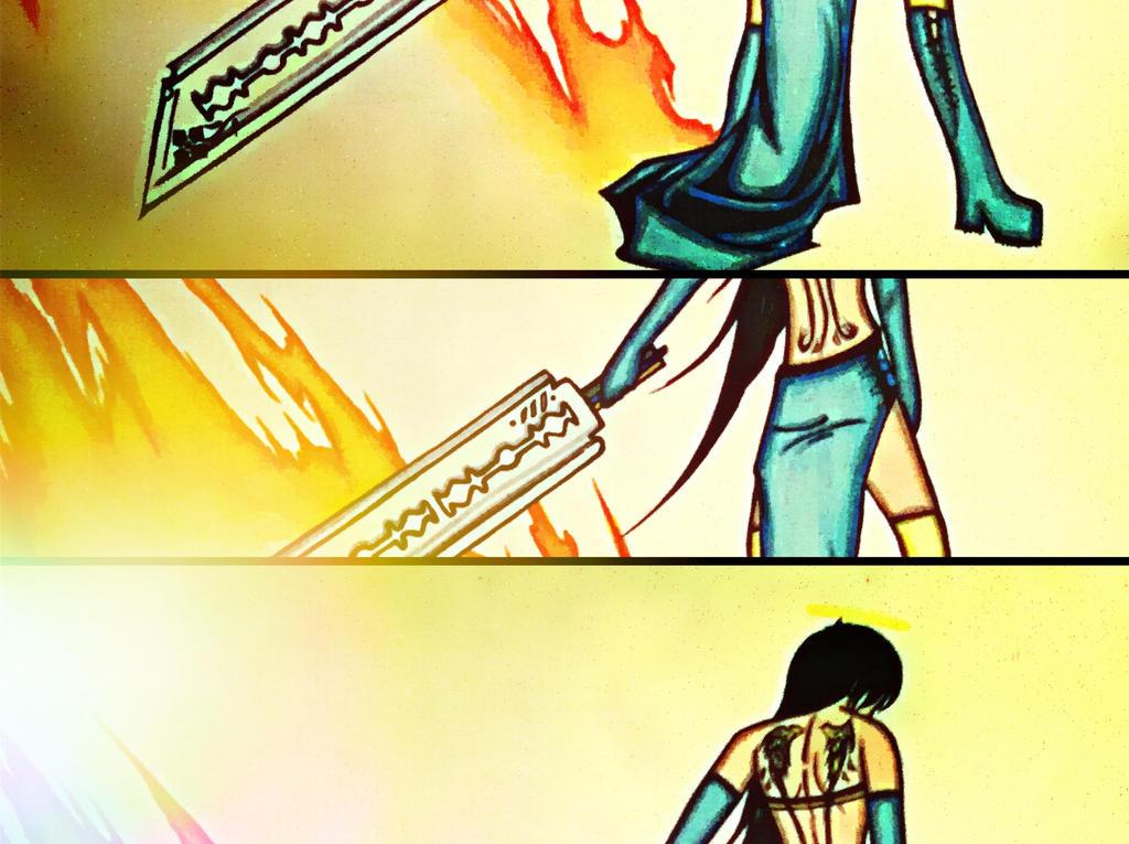 Pornostar Angel Blade