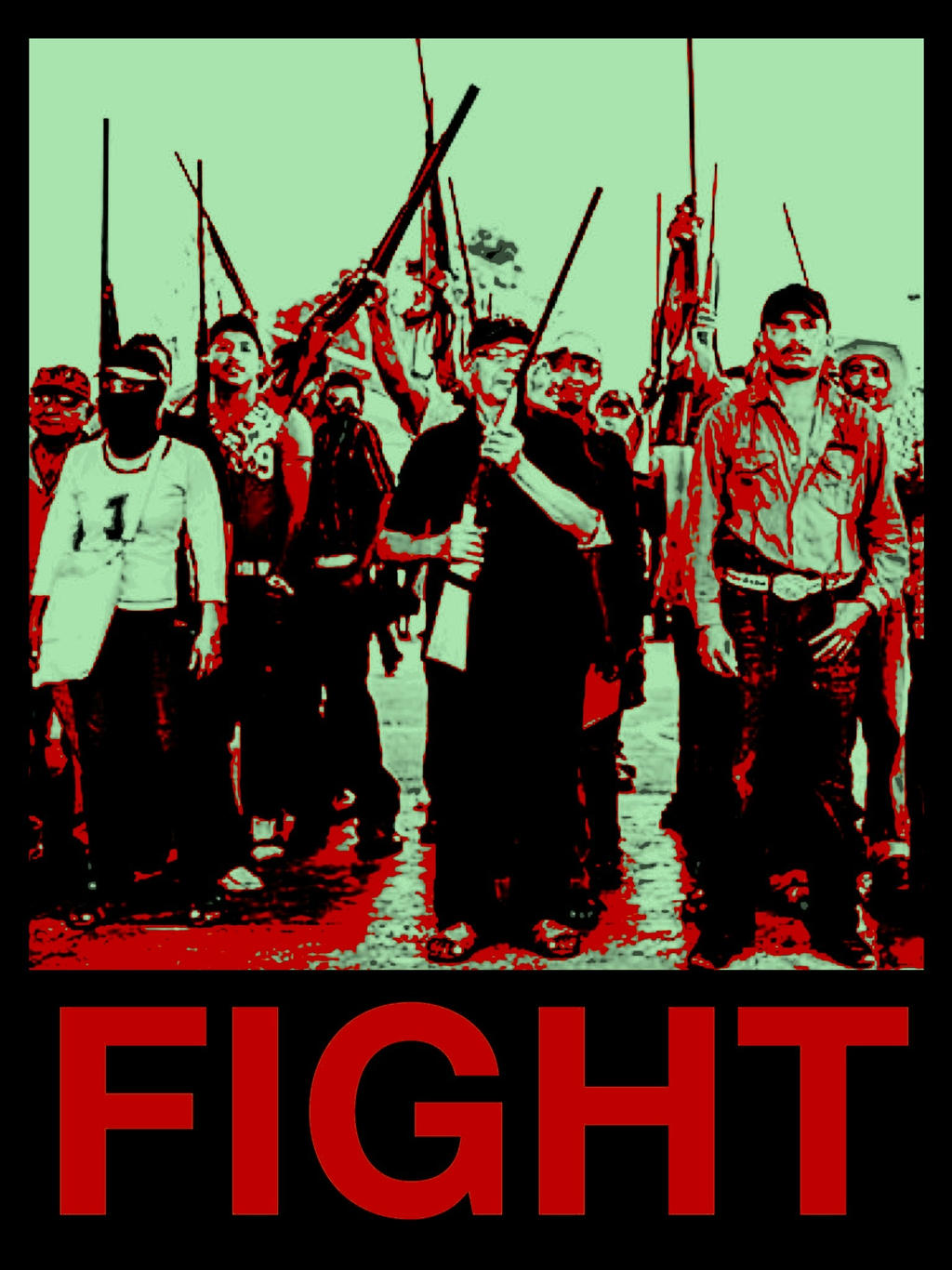 Freedom fighters of Mexico by MyrandaSkyWarren