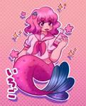 Strawberry mermaid