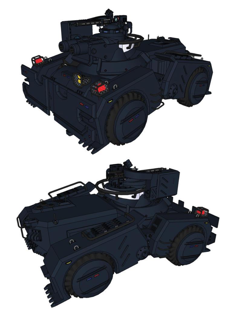 minitank 2 by flaketom