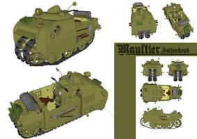 Maultier Monokrad by flaketom