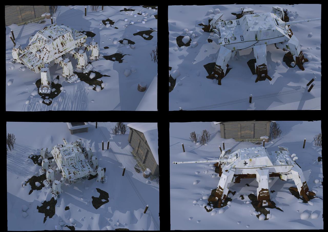 some winter scenes by flaketom