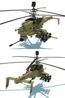 Attack helicopter