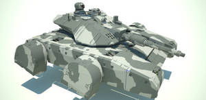 Medium Hovertank