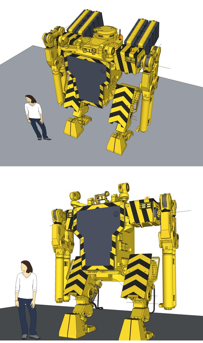 Workbot Wip by flaketom