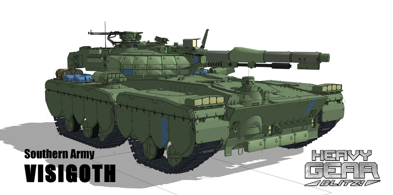 Heavy Gears Visigoth by flaketom