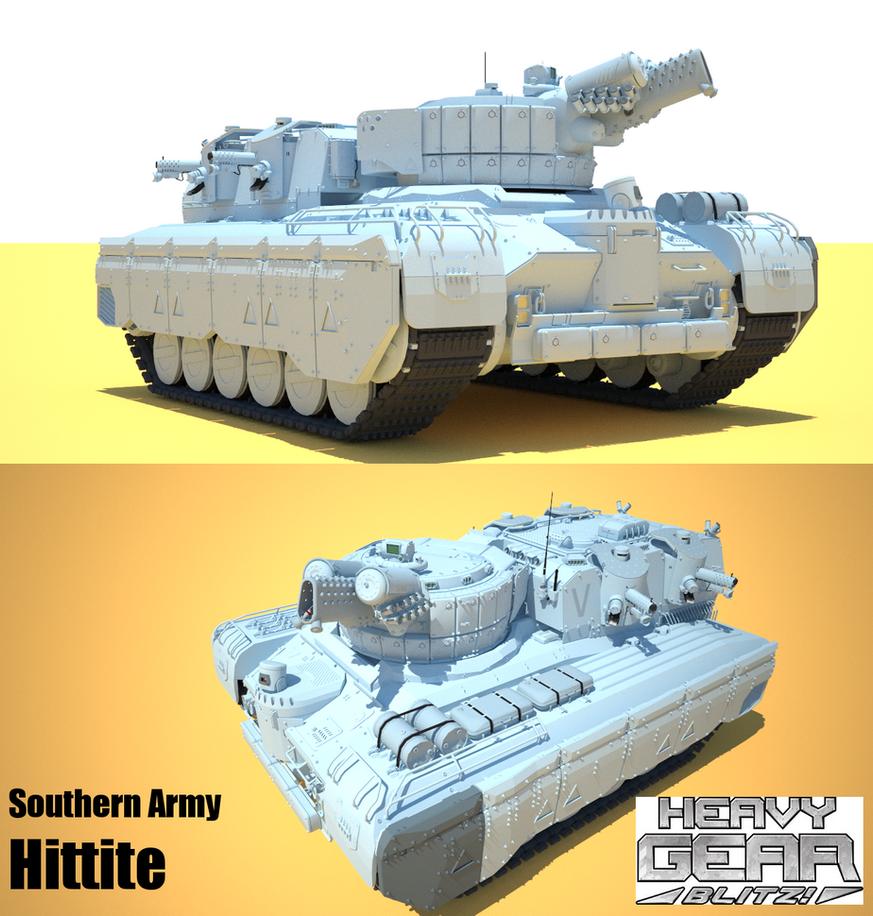 Heavy Gears Hittite by flaketom