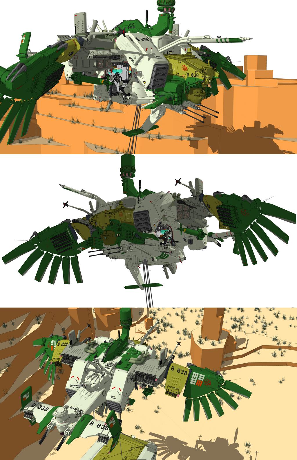 gunship by flaketom