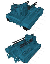 Heavy Gears Artemis by flaketom