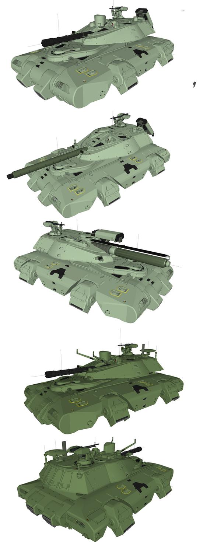 Heavy Gears Hetaroi by flaketom