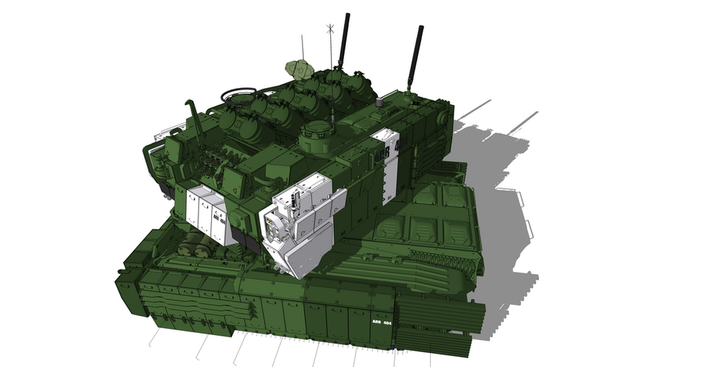 Heavy Missile Carrier by flaketom
