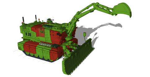combat engineering vehicle concept by flaketom