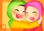 Ayeh And Her Friend by XxXtOMATOfaceXxX