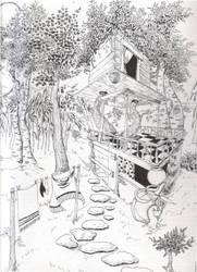 Cabane by Letimoineau