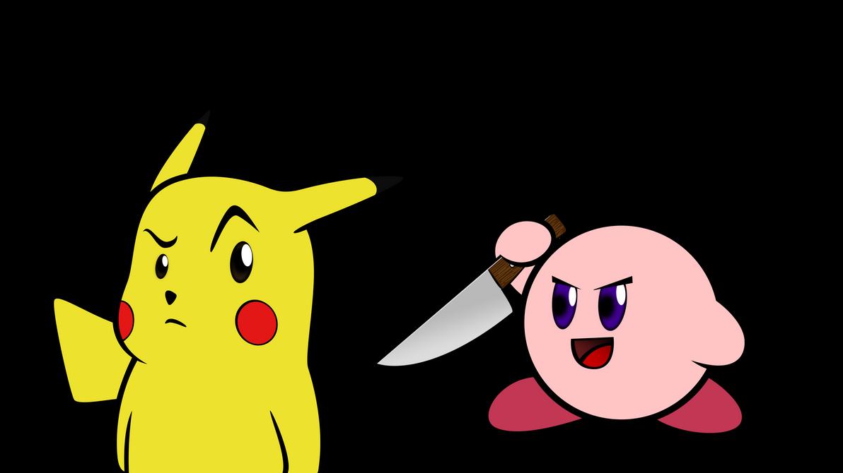 Cute Kirby And Pikachu Kirby And Pikachu And Yoshi