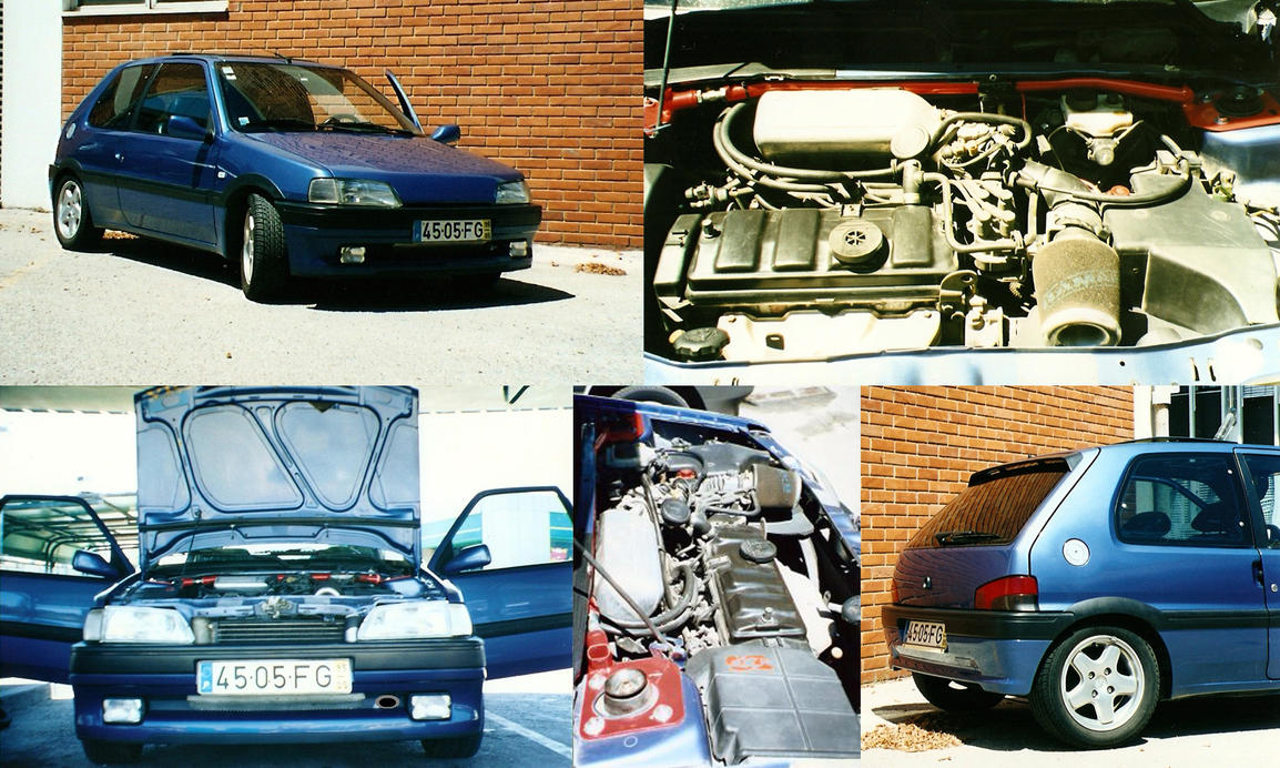 Peugeot 106 xsi by theportugueseplayer on deviantart for Interieur 106 xsi