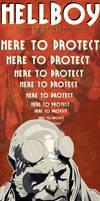Hellboy Poster by StratospheremaN