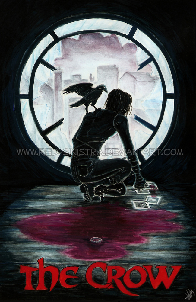 The Crow: It can't rain all the time by Red-Sinistra on ...